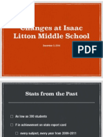 changes at isaac litton middle school