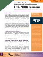 PsyAsia International HRM & I-O Psychology Training Portfolio