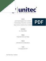 Estudio Analaitico Del Reglamento Interno de La Empresa