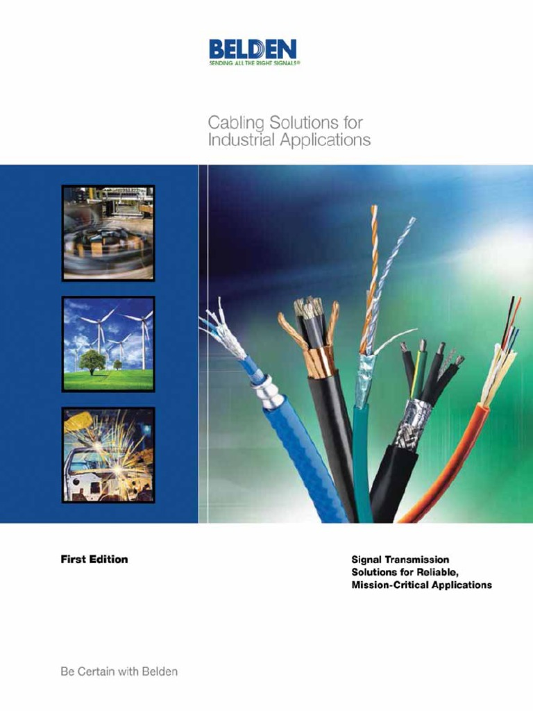 Cabling Solutions for Industrial Applications | Cable | Optical Fiber