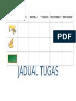 JADUAL TUGAS