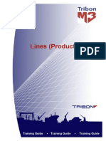 Lines(Production) Tribon M3 Training Guide 22jul2004