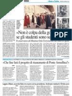 """""""Non è colpa della goliardia se gli studenti sono superstiziosi"""" - Il Resto del Carlino del 22 gennaio 2015"""