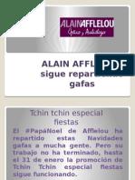 Alain Afflelou Sigue Repartienfo Gafas