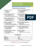 Creative Problem Solving Training Curriculum
