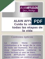 ALAIN AFFLELOU y La Salud Visual en Cada Etapa de La Vida