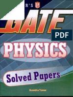 Upkars GATE Physics Solved Papers by Surekha Thomar [G.B]