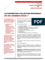 LA CONVENTION COLLECTIVE NATIONALE