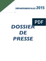 Dossier de presse FN 76 - Départmentales 2015