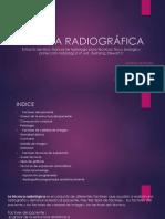 técnica radiográfica