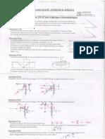 Serie TD Physique N06 Optique Géométriques