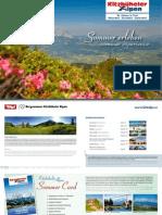 Sommer erleben (deutsch/englisch)- Kitzbüheler Alpen St. Johann in Tirol
