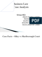 Business Law cases