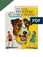 Blyton Enid Série Mystère Cirque 2 Le mystère du chien savant 1939 Hurrah for the Circus.doc