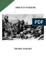 Habart Michel - Histoire d'un parjure.pdf