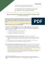 Évaluation des bénéfices de l'interdiction de fumer suite au décret du 15 novembre 2006