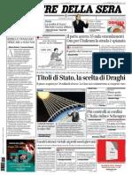 Corriere della sera 22/01/2015