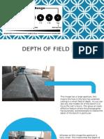 depth of field powerpoint