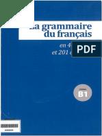 La grammaire du français