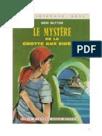 Blyton Enid Série Mystère Divers 2 Le mystère de la grotte aux sirènes 1943 The Secret ofCliff castle.doc
