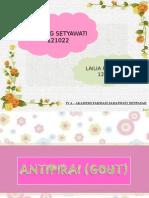 PPT SPESIALITE ~ ANTIPIRAI