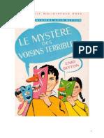 Blyton Enid Série Mystère Divers 6 Le mystère des enfants terribles 1949 Those dreaful children.doc