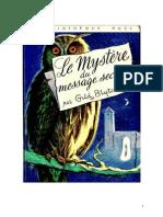Blyton Enid Série Mystère Divers 8 Le mystère du message secret 1960 The Mystery that never was.doc