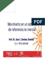 Movimiento en Un Sistema de Referencia No Inercial