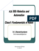 Robotics and Automation