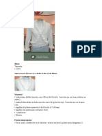 Blusa Branca de Pompons