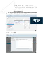 Tutorial Pentaho CDE x HTML Javascript