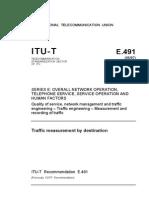 ITU T E.491