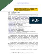 Procuradoria Da RepÚblica cÍrculo Judicial de PortimÃo