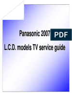 Panasonic 2007 LCDTV Service Guide