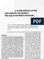 FMLN, Hegemony in the Interior of The Salvadoran Revolution. The ERP in Northern Morazán [JLAA vol.4]
