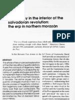 FMLN, Hegemony in the Interior of The Salvadoran Revolution. The ERP in Northern Morazán [JLAA vol.4]