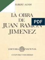 Azam, Gilbert - La obra de Juan Ramón Jiménez.pdf
