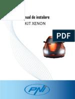 Manual Romana Instalare Xenon