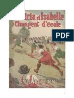 Blyton Enid Patricia et Isabelle Changent d'école Original.doc