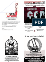 Revista Bimestral Anarcosindicalista Do SINDIVÁRIOS de Campinas