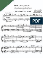 Bartok - For children
