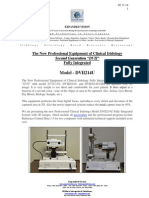 """The New Professional Equipment of Clinical Iridology Second Generation """"DVII"""" Fully Integrated"""