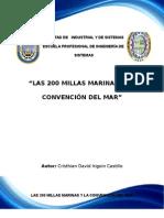 LAS 200 MILLAS MARINAS Y LA CONVENCIÓN DEL MAR