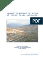 Informe Riesgos Geológicos PinosGenil