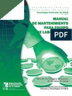 Manual Mantenimiento para equipo laboratorio.pdf