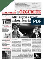 Ekmek Ve Ozgurluk - Aylik Siyasi Dergi - Ocak 2010 Sayi 5