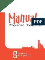 Manual de Propiedad Horizontal Bogota