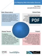 A Web Observatory for Mapping Web Information Sources - Paul Gilbert