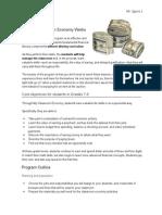 website economy page