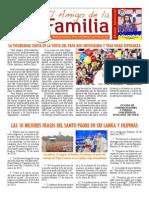 EL AMIGO DE LA FAMILIA domingo 25 enero 2015